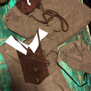 Sherlock Holmes/Upscale Georgeous Sexy Costume